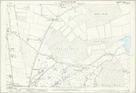 Sussex IV.3 (includes: Burstow; Horne; Worth) - 25 Inch Map