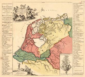 Typus Frisiae Veteris inter Rheni medium ostium et Amisiam
