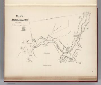 Facsimile:  Hunter's Tracing of Stickeen River
