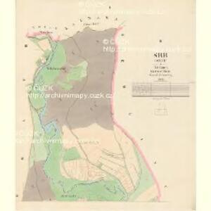 Srb (Srby) - c7202-1-001 - Kaiserpflichtexemplar der Landkarten des stabilen Katasters