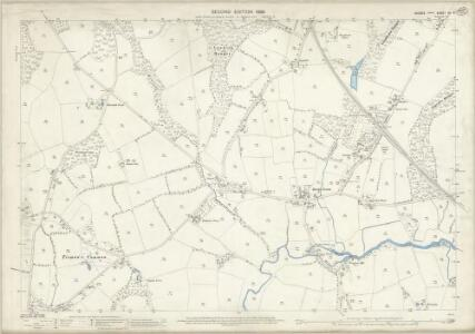 Sussex XII.4 (includes: Rudgwick) - 25 Inch Map