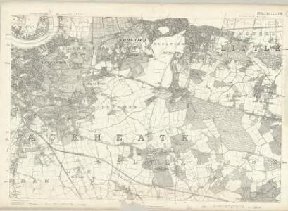 Middlesex XXIII - OS Six-Inch Map