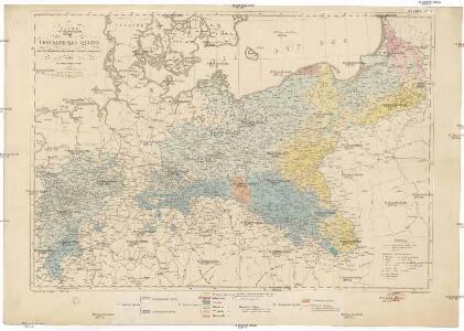 Karte vom Preussischen Staate