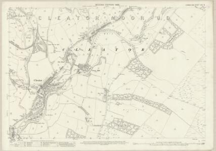 Cumberland LXVII.16 (includes: Cleator Moor) - 25 Inch Map