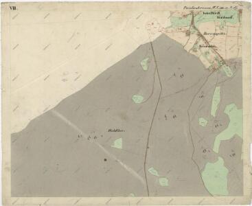 Katastrální mapa obce Pavlův Studenec WC-XVI-19 df
