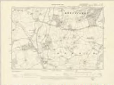 Gloucestershire X.SW - OS Six-Inch Map
