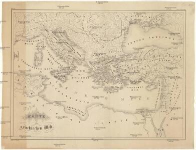 Karte der griechischen Welt
