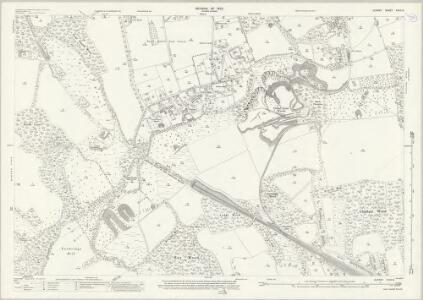 Surrey XXVII.8 (includes: Godstone; Oxted; Tandridge; Woldingham) - 25 Inch Map
