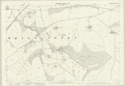 Shropshire XII.12 (includes: Ellesmere Rural; Whittington) - 25 Inch Map