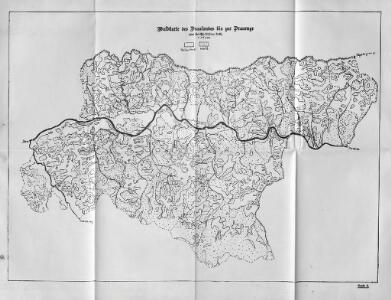 Waldkarte des Draulandes bis zur Drauenge