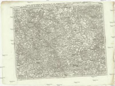 Carte topographique de Wesphalie et de quelsques pays voisins
