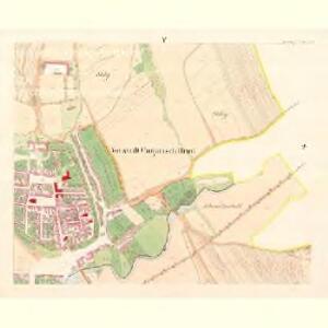 Ungarisch Brod (Uherski Brod) - m3197-1-005 - Kaiserpflichtexemplar der Landkarten des stabilen Katasters