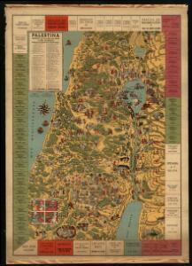 Palestina: gráfico de la vida de Jesús y año litúrgico