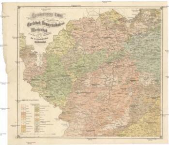 Geognostische Karte der Umgebungen von Carlsbad, Franzensbad und Marienbad