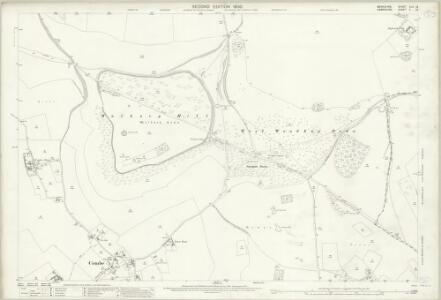 Berkshire XLII.13 (includes: Combe; East Woodhay; Inkpen; West Woodhay) - 25 Inch Map
