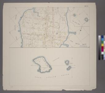 Sheet 42: Grid #34000E - 35000E, #6000N - 9000N. [Includes City Island between Schofield Avenue and Ditmars Street.]