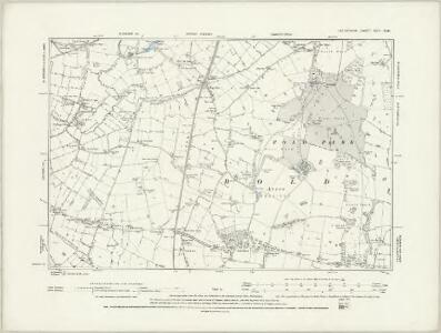 Lancashire CVII.NE - OS Six-Inch Map