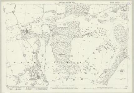 Somerset XLIII.12 (includes: Corsley; Horningsham; Longbridge Deverill; Selwood) - 25 Inch Map