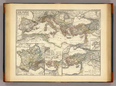 Mare internum cum populis adiacentibus a Pompeii ex Asia reditu usque ad bellum Actiacum.