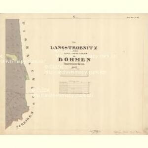 Schlagles - c7745-1-005 - Kaiserpflichtexemplar der Landkarten des stabilen Katasters