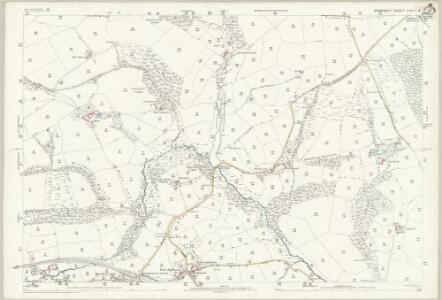 Somerset LXVII.6 (includes: Brushford; Dulverton) - 25 Inch Map