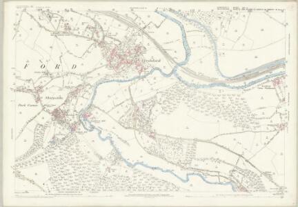 Somerset XXI.3 (includes: Freshford; Hinton Charterhouse; Limpley Stoke; Westwood; Winsley) - 25 Inch Map