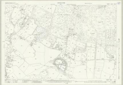 Dorset XXXV.11 (includes: Bournemouth; Hampreston; West Parley) - 25 Inch Map
