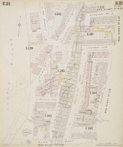 Insurance Plan of London North & North-East District Vol. E: sheet 21