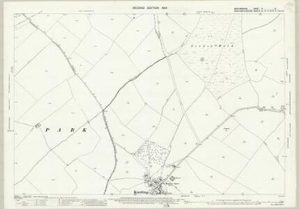 Bedfordshire IV.10 (includes: Knotting and Souldrop; Melchbourne and Yelden; Newton Bromswold) - 25 Inch Map