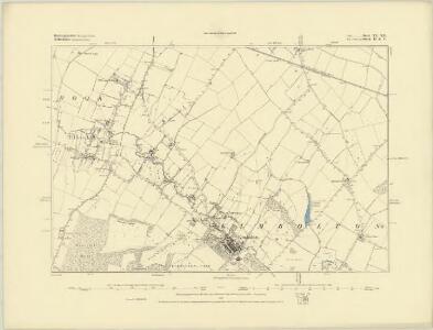 Huntingdonshire XX.NW - OS Six-Inch Map