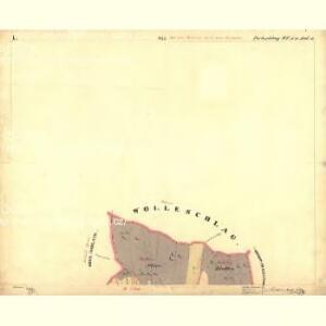 Perleschlag - c5694-1-001 - Kaiserpflichtexemplar der Landkarten des stabilen Katasters