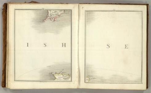 Sheets 47-48.  (Cary's England, Wales, and Scotland).