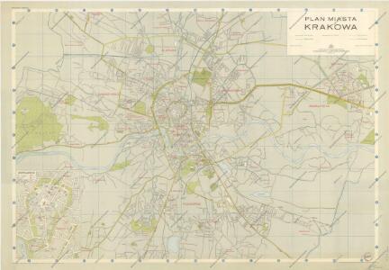 Plan Miasta Krakowa