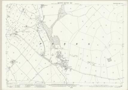 Shropshire XV.2 (includes: Ightfield; Prees) - 25 Inch Map