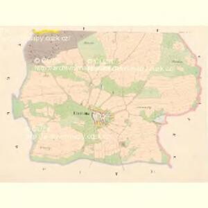 Cholluna - c2562-1-001 - Kaiserpflichtexemplar der Landkarten des stabilen Katasters