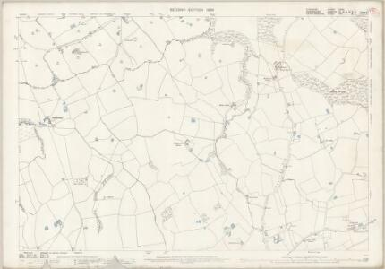 Cheshire LXVII.1 (includes: Checkley cum Wrinehill; Madeley; Woore) - 25 Inch Map