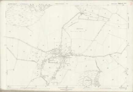 Wiltshire LXIX.15 (includes: Alvediston; Berwick St John; Donhead St Andrew) - 25 Inch Map