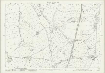 Devon LXXXVIII.9 (includes: Bridestowe; Lewtrenchard; Lydford) - 25 Inch Map