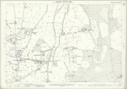 Berkshire XXXIX.10 (includes: Warfield; Winkfield) - 25 Inch Map