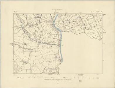 Shropshire LXXIV.SE - OS Six-Inch Map