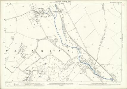 Hertfordshire XIV.9 (includes: Braughing; Westmill) - 25 Inch Map
