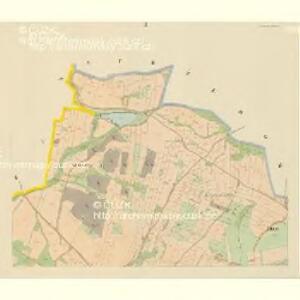 Klein Bor (Maljbor) - c4449-1-002 - Kaiserpflichtexemplar der Landkarten des stabilen Katasters