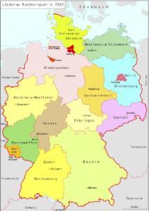 Länder der Bundesrepublik 2003