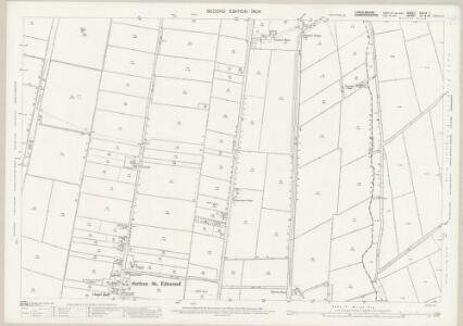 Lincolnshire CXLIX.7 (includes: Sutton St Edmund; Tydd St Giles; Tydd St Mary) - 25 Inch Map