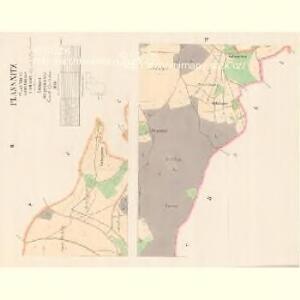 Plassnitz (Plasnice) - c7708-2-002 - Kaiserpflichtexemplar der Landkarten des stabilen Katasters