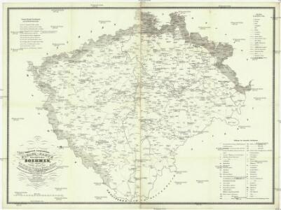 Statistisch topographische Finanz-Karte des Königreiches Boehmen