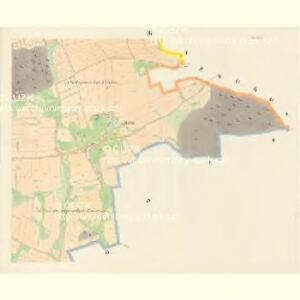 Hodowitz - c1922-1-007 - Kaiserpflichtexemplar der Landkarten des stabilen Katasters