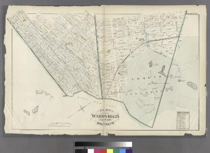 Plate 34: Part of Wards 23 & 25. City of Brooklyn.