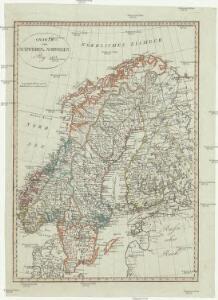 Charte von Schweden u. Norwegen