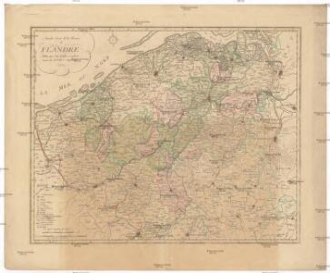 Nouvelle carte de la province de Flandre